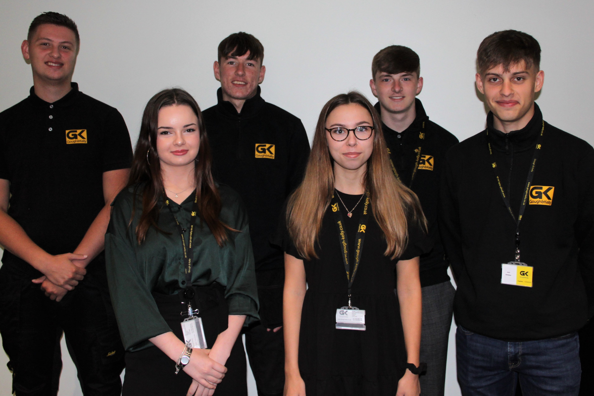 Gough and Kelly takes on six apprentices amid growth