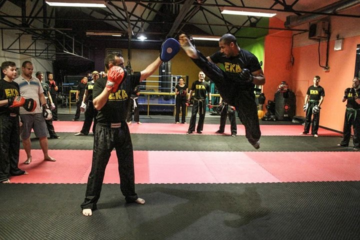 Senior Operations Manager Richard cuff shares his passion for kickboxing with the Yorkshire Post